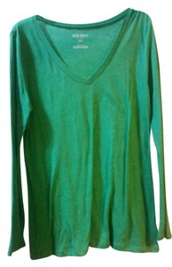 Old Navy V-neck T Shirt Green
