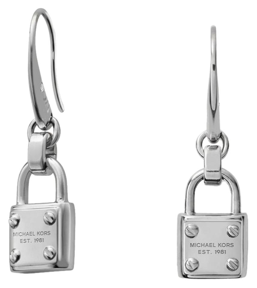 Michael kors silver tone earrings 40 off michael kors for Michael b jewelry death