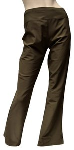 lucy Flare Athletic Pants Olive Green Khaki Yoga