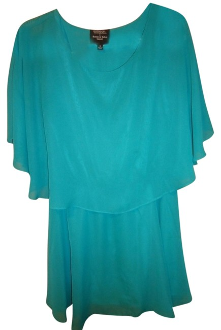 Romeo & Juliet Couture short dress Teal on Tradesy