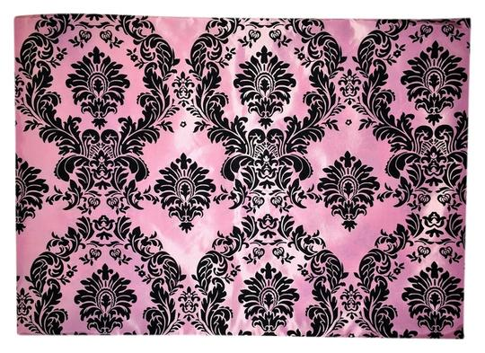 Other Pillow Sham; Pink Baroque Taffeta [ Roxanne Anjou Closet ]