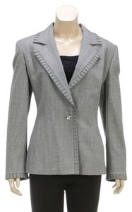 Escada Gray Womens Jean Jacket