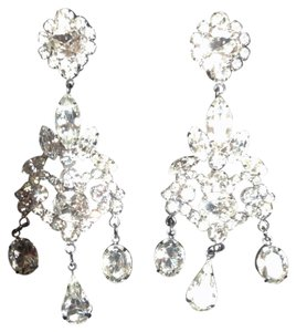 Possibly Butler and Wilson Beautiful Chandelier Earrings