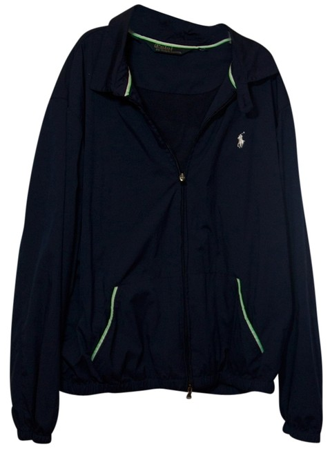 Ralph Lauren Navy Blue/Green Jacket