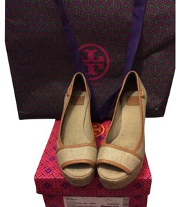 Tory Burch Wedge Summer tan Wedges