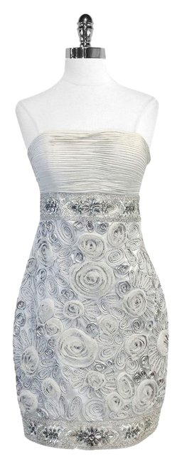 Sue Wong short dress Silk Embellished Strapless on Tradesy