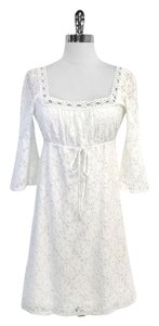 Laundry by Shelli Segal short dress Floral Eyelet on Tradesy