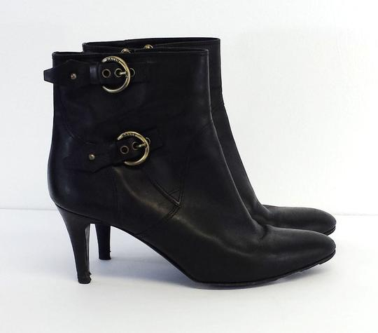 Bally Leather Black Boots