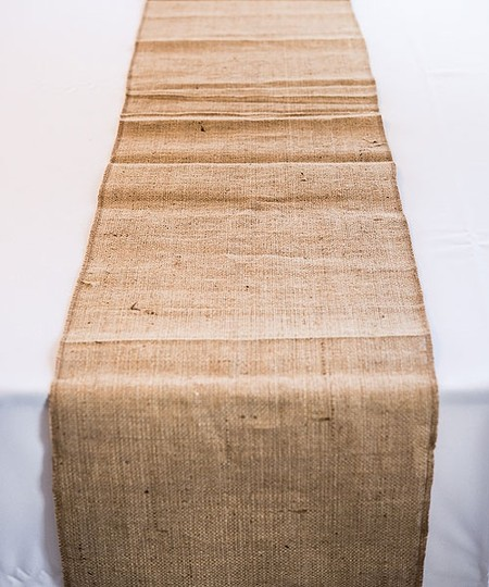 Burlap table runners 12 12 5 x 72 6ft tablecloth for 12 ft table runner