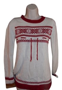 Grane Top White and red