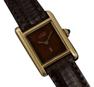 Cartier Cartier Vintage Ladies Tank Watch - Gold Vermeil, 18K Gold over Sterling Silver