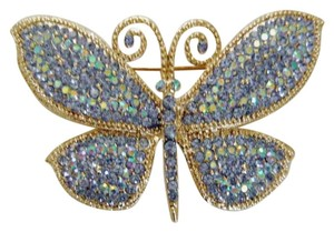 Kirks Folly Divine Sparkle Butterfly Pin