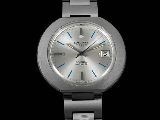 Longines 1970's Longines Admiral Retro Extra-Large Automatic Watch - Stainless Steel