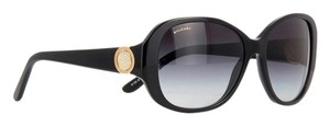 BVLGARI NEW Bvlgari 8138B 501/8G BLACK Diamante Coin Sunglasses-30th Anniversary Edition