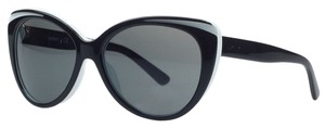 DKNY Donna Karan Black/White Cateye Sunglasses