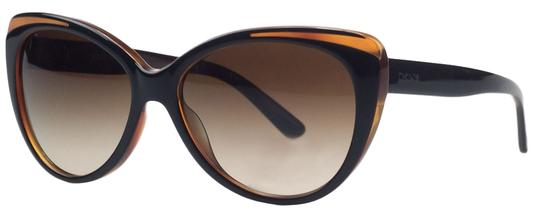 DKNY Donna Karan Brown Cateye Sunglasses