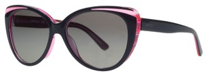 DKNY Donna Karan Black/Pink Cateye Sunglasses