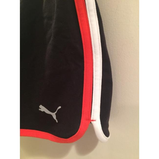 Puma Black with red and white trim Shorts
