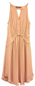 Banana Republic Nude Art Deco Dress
