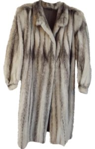 Made in Greece Luxury Vintage Mink Cross Mink Fur Coat