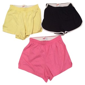 Soffe Yellow, Black, Pink Shorts