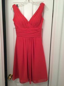 Bill Levkoff Persimmon Dress