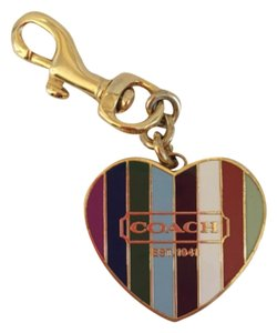 Coach Keychain with lipgloss inside