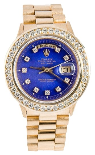 Rolex ROLEX 36MM DAYDATE PRESIDENTIAL DIAMOND WATCH
