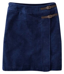 Boden Mini Skirt Blue