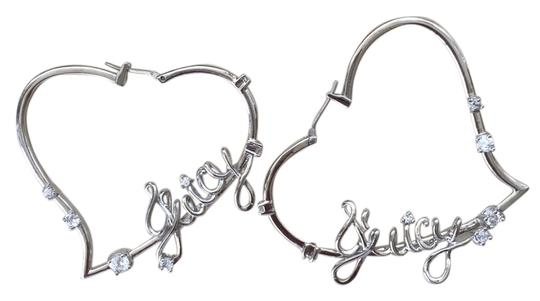 Juicy Couture Juicy Couture Heart-shaped Silver earrings