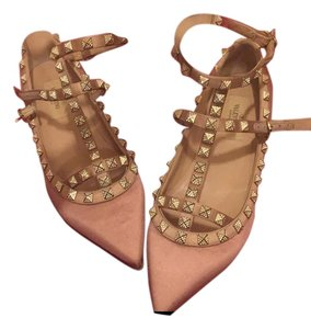 Valentino Exclusive Limited Edition light rose pink Flats