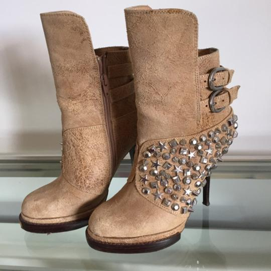 Jeffrey Campbell Beige Boots