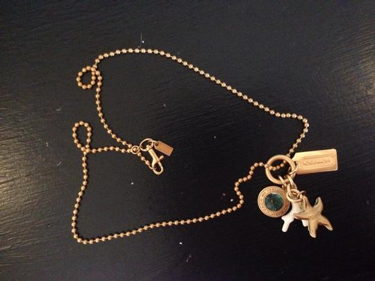 Coach Coach Gold Necklace