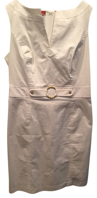 Preload https://item5.tradesy.com/images/milly-white-sleveless-gold-bamboo-accents-or-10-above-knee-workoffice-dress-size-8-m-5324884-0-0.jpg?width=400&height=650