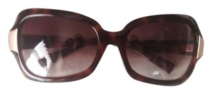 Oliver Peoples Oliver Peoples Tortoise and Brushed Gold Sunglasses