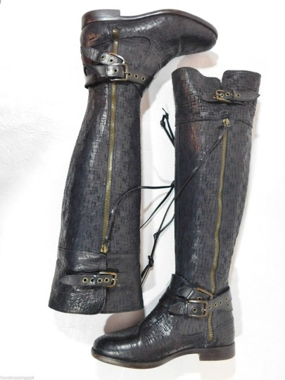 UGG Australia Over The Knee Black Boots