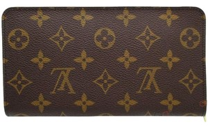 Louis Vuitton Authentic LOUIS VUITTON Monogram Canvas Zippy Wallet