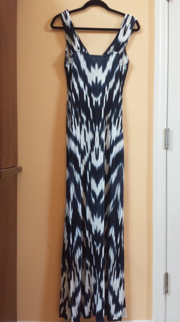 Blue and White Maxi Dress by INC International Concepts