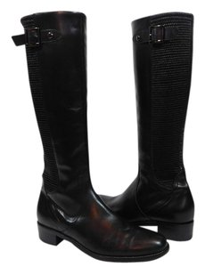 Aquatalia by Marvin K. Riding Boot Black Boots