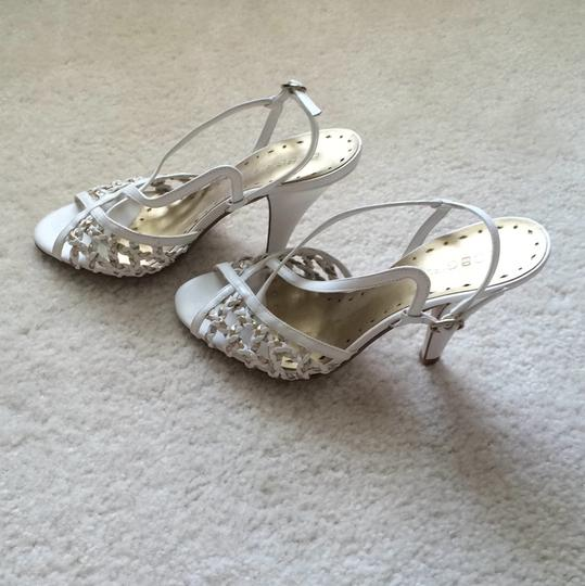 BC Footwear White and gold Formal Image 1
