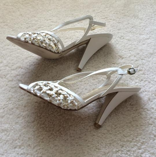BC Footwear White and gold Formal Image 5