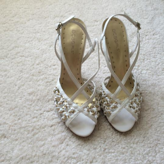 BC Footwear White and gold Formal Image 6