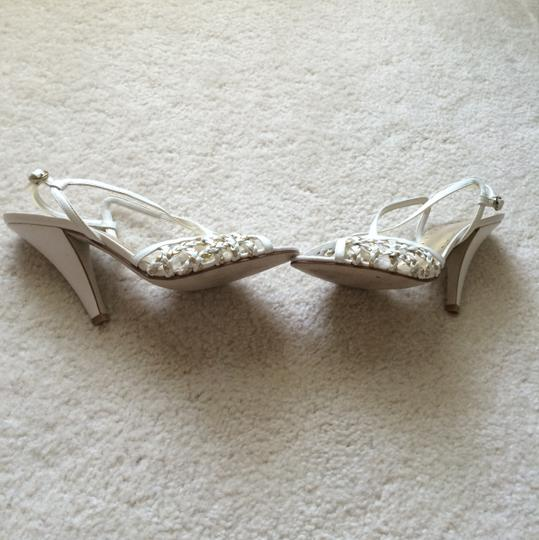BC Footwear White and gold Formal Image 8