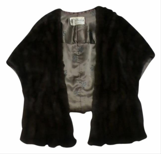 Preload https://item5.tradesy.com/images/dark-brown-russian-stole-size-14-l-532669-0-0.jpg?width=400&height=650