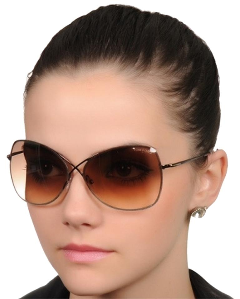 Tom Ford Gold Brown Sunglasses 70 Off Tom Ford Accessories Tradesy