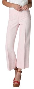 Cartonnier Anthropologie Wide Legged Capri/Cropped Pants Pink