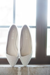 ALDO Rhinestone Wedding Shoes