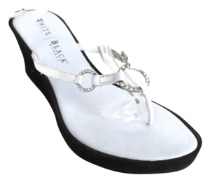 White House | Black Market white Wedges