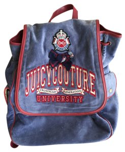 Juicy Couture Preppy Velour Backpack