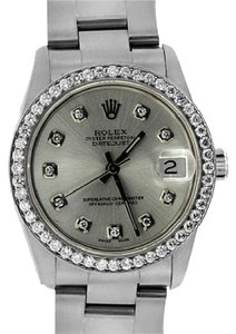 Rolex ROLEX DATEJUST 31MM MIDSIZE DIAMOND WATCH